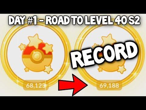 connectYoutube - I BROKE MY POKEMON GO RECORD! - POKEMON GO ROAD TO LEVEL 40 (SEASON 2) - #1