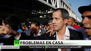 Guaidó llega a Caracas en medio de incidentes por su regreso
