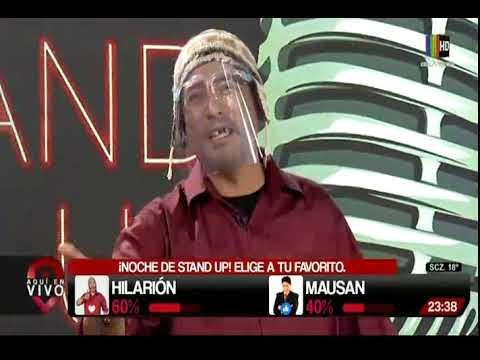 Hilarión y su rutina de Stand Up