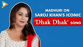"Madhuri Dixit on Saroj Khan's 'Dhak Dhak' song: ""It appeals to people because it looks effortless"" - HUNGAMA"