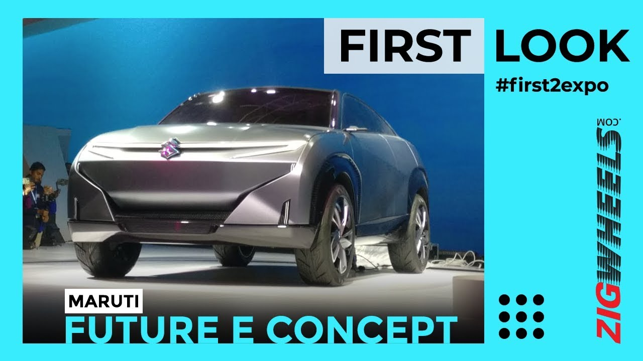 Maruti Suzuki Futuro-e Walkaround Review | Stunning Electric SUV Coupe revealed | Auto Expo 2020