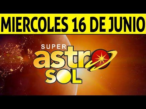 Resultado de ASTRO SOL del Miércoles 16 de Junio de 2021 | SUPER ASTRO