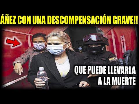 """Revelan que Áñez presenta fuerte descompensación """"Según Médicos hay que internarla para compensarla"""""""