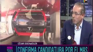 César Dockweiler confirma candidatura por el MAS