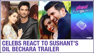 Bollywood celebrities react to Sushant Singh Rajput's film Dil Bechara trailer - ZOOMDEKHO