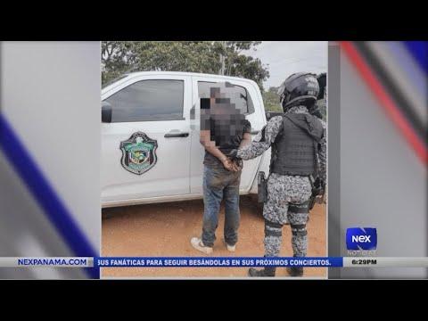 Unidades policiales aprendieron a 2 personas por privación de libertad en Colón