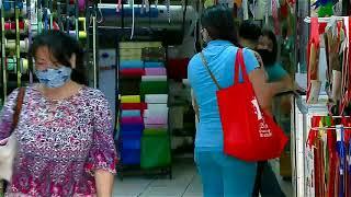 Aglomeraciones en San José por compras navideñas