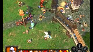 Heroes of Might and Magic V Tribes of the East ending battle