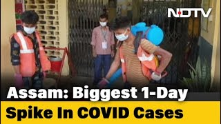 With 1,202 COVID-19 Cases, Assam Records Highest Single-Day Spike - NDTV