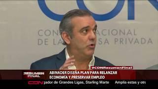 Abinader diseña plan para relanzar economía y preservar empleo