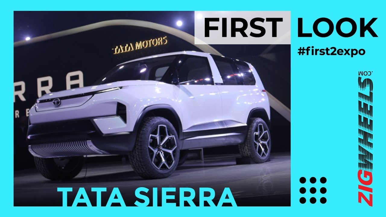 Tata Sierra Is Back! | Reborn As An EV SUV | ZigWheels.com