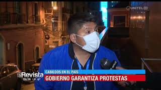 Gobierno garantiza protestas en el país