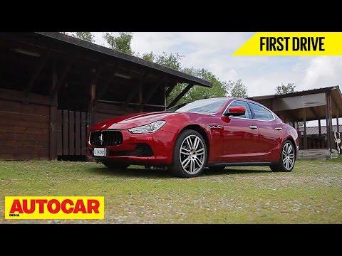 Maserati Ghibli | First Drive | Autocar India