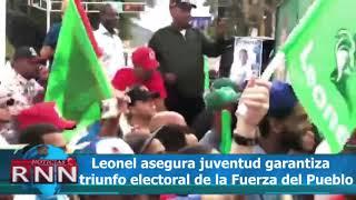 Leonel asegura juventud garantiza el triunfo electoral en elecciones febrero y mayo