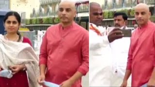 Producer Dil Raju Visits Tirumala With His Second Wife - Telugu Film News | Latest Tollywood News - TFPC