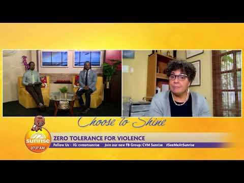 Zero Tolerance for Violence | Sunrise | CVMTV