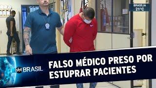 Falso médico é preso por estuprar clientes no Rio de Janeiro | SBT Brasil (02/07/20)