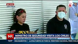 Policía vigila caserío en frontera con casos de Covid-19
