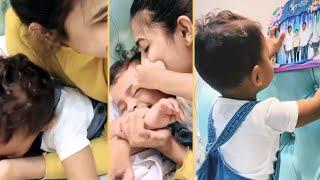 Niharika Konidela Playing With Her Friend Son | Cutest Video | IG Telugu - IGTELUGU