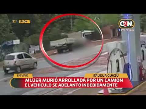 Itauguá Guazú: Mujer murió arrollada por un camión
