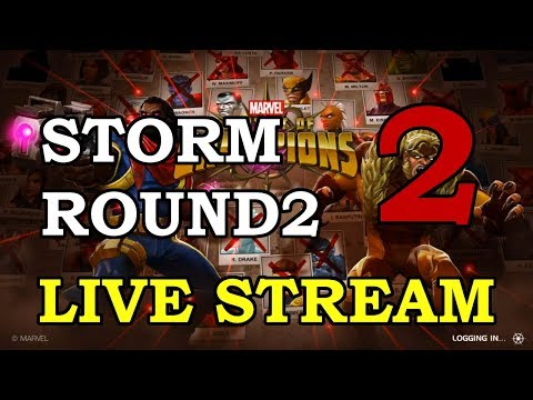 connectYoutube - Storm Round 2 - Part 2 | Marvel Contest of Champions Live Stream