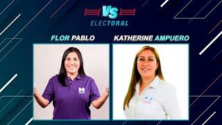 Versus Electoral: Flor Pablo (Partido Morado) vs. Katherine Ampuero (Alianza para el Progreso)