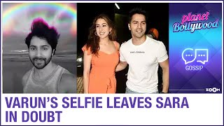 Varun Dhawan's selfie after Cyclone Nisarga leaves Coolie No. 1 co-star Sara Ali Khan in doubt - ZOOMDEKHO