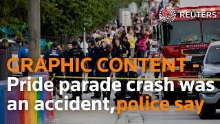 WARNING: GRAPHIC CONTENT - Police say Florida Pride parade crash was accidental