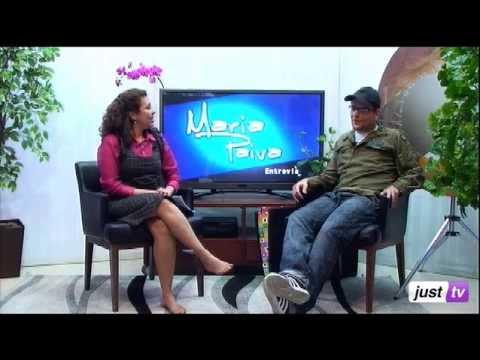 Artista Plástico Renan Albachi no Maria Paiva Entrevista - JustTV - 16/07/13