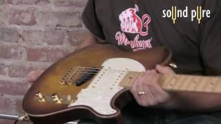 Melancon Classic Artist T guitar w. Rivera Amps Venus 3