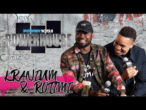 connectYoutube - Kranium & Rotimi Backstage at Powerhouse 2017