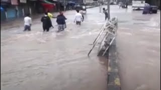 Heavy Rains Lead To Severe Waterlogging In Thane - NDTV
