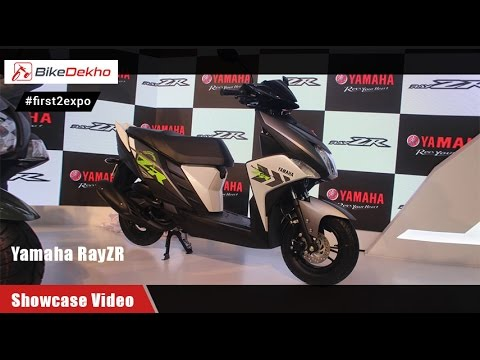 #first2expo: Yamaha RayZR | Showcase Video | BikeDekho@AutoExpo2016