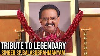 A Tribute to Legendary Singer SP Balasubrahmanyam | Cine Musicians Union | TFPC - TFPC