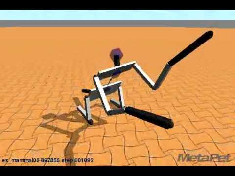 Metapet - Mutant bipedal model