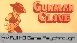 Gunman Clive - Full Game Playthrough (No Commentary)