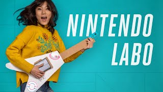 Nintendo Labo: build and code your own instruments