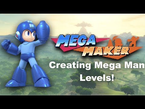 Mega Maker! Creating Mega Man Levels LIVE! Join in and Chat!