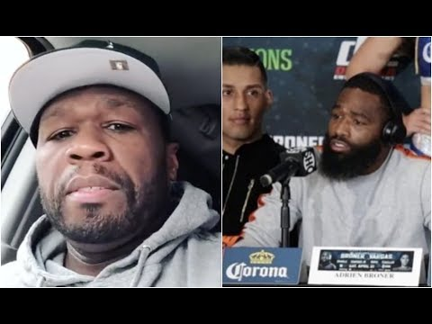 50 Cent Reacts To Adrien Broner Going Crazy At Press Conference