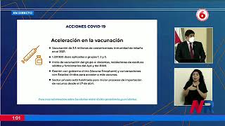 Gobierno agilizará vacunación de docentes y funcionarios del PANI