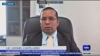 Entrevista a Lionel Castillero, subcoordinador general del programa saneamiento de Panamá