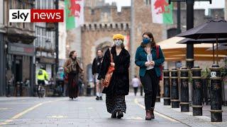 Coronavirus: Wales goes into 'firebreak' lockdown