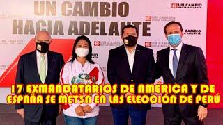 DER3CHA INTERNACIONAL SE DES3SPERAN SE POR TRIUNFO DE PEDRO CASTILLO Y BUSCAN DE PR3SIONAR AL PERÚ..