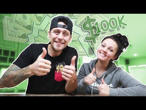 $100,000 DOLLAR GIVEAWAY!!