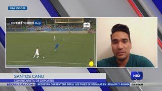 Entrevista a Santos Cano, sobre el partido de Panamá vs. Curazao y su clasificación a la octagonal