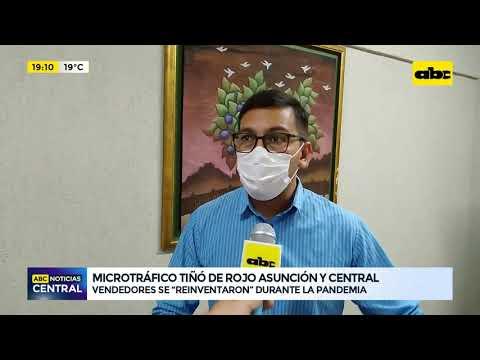 Microtráfico tiñó de rojo el mapa de Asunción y Central