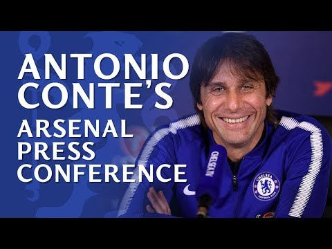 Antonio Conte Press Conference | Arsenal v Chelsea