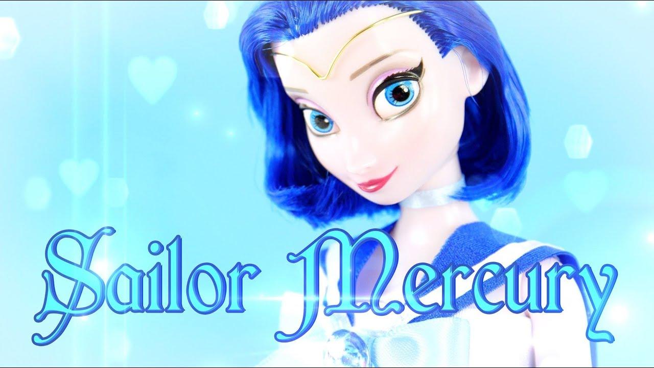 DIY - Custom Doll: Sailor Mercury -SAILOR MOON - Handmade - Doll - Crafts