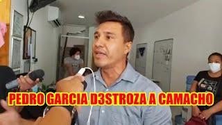 PEDRO GARCIA MENCIONÓ QUE CAMACHO NUNC4 SERÁ GOBERNADOR NI PR3SIDENTE