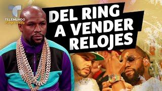 El cambiazo de Mayweather: del ring a vender relojes | Telemundo Deportes